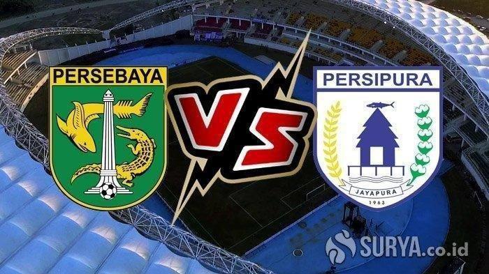 LIVE STREAMING Liga 1 2020 Persebaya Surabaya vs Persipura Jayapura, Sore ini Pukul 18.30 WIB