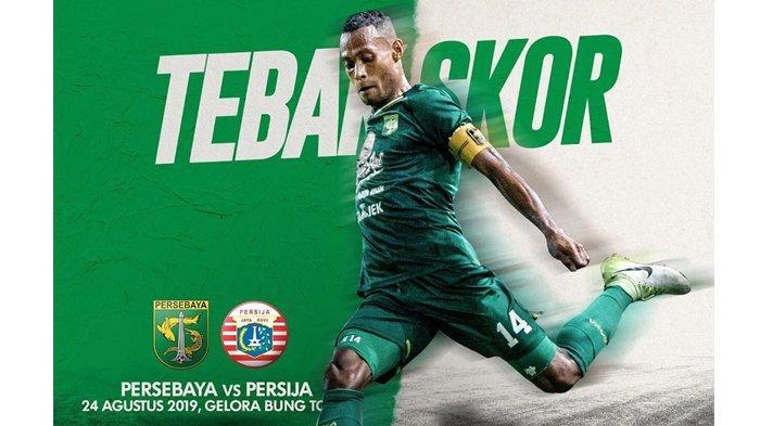 Link Live Streaming Indosiar Persebaya vs Persija Liga 1 2019 Sabtu (24/8) Jam 15.30 WIB