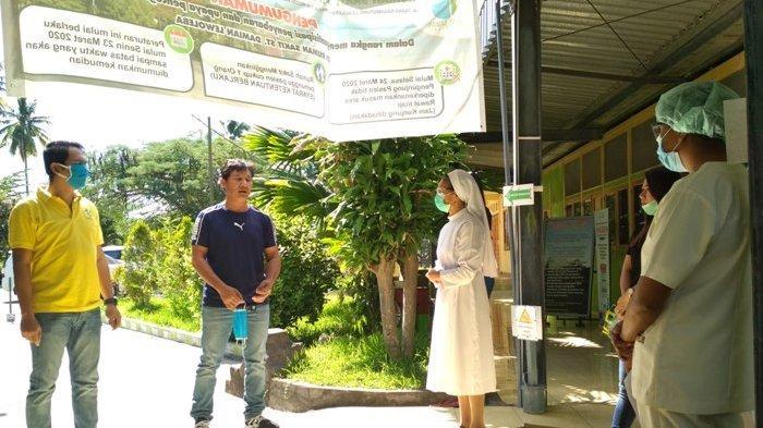Dukung Tenaga Medis, Pukat Lembata Sumbang 150 Pakaian Hazmat