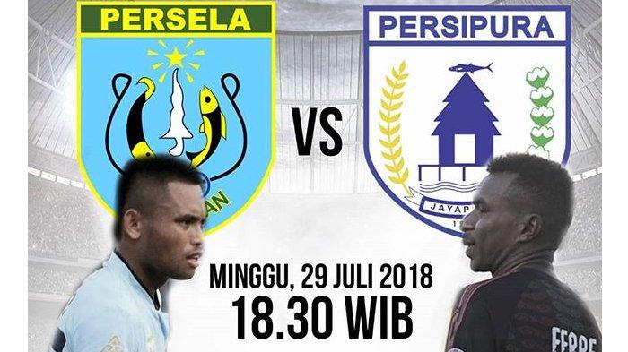 LIVE Streaming OChannel Vidio.com, Persela vs Persipura Pukul 18.30 WIB Malam Ini