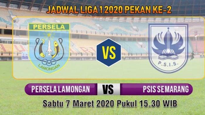 Live O Channel! Link Live Streaming Persela vs PSIS Semarang Liga 1 2020 via TV Online Vidio.com