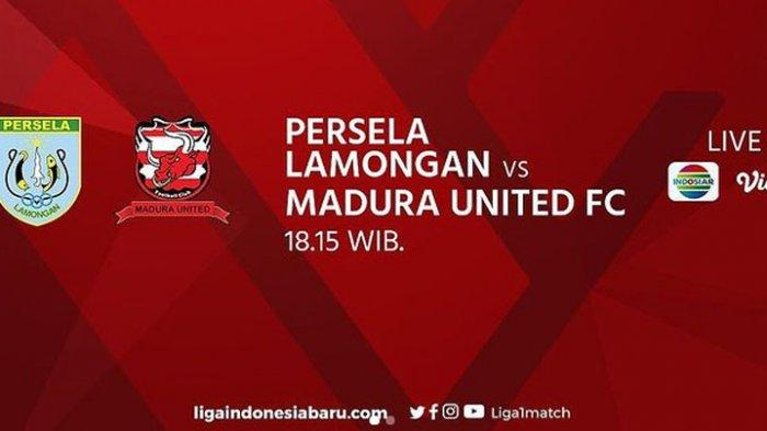 Hasil Persela vs Madura United Piala Menpora 2021, Live Streaming Indosiar! Stratei Rahmad Darmawan