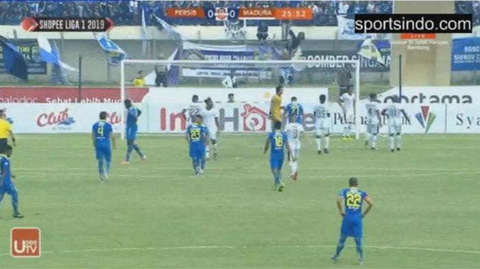 Persib Ditahan Imbang Madura United, Bali United Puncaki Klasemen Liga 1