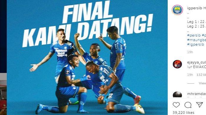 Riwayat Persib Bandung Hingga TembusFinal Piala Menpora, Tak Pernah Kalah dan Paling Tajam