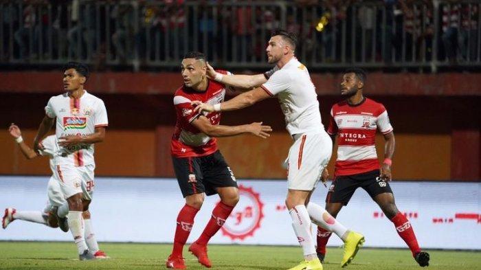 Hasil Akhir Madura United Vs Persija Jakarta, 2 Gol Marko Simic Gagal Bawa Kemenangan di Liga 1