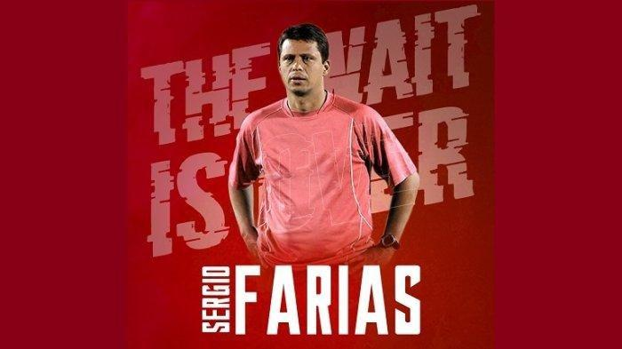 Sergio Farias Pelatih Persija Jakarta Pimpin Latihan, Bawa 2 Asisten Pribadi dari Brasil, Lihat Aksi