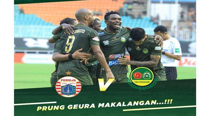 SEDANG BERLANGSUNG Live Streaming Indosiar Persija vs Tira Persikabo Liga 1 2019, Sementara 0-0
