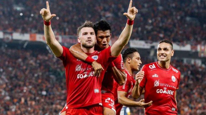 Baru Babak Pertama, Hattrick Simic Bawa Persija Unggul 3-0 Atas JDT FC