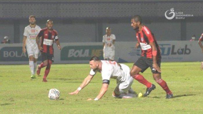 Data Klasemen Liga 1 2021: Mutiara Hitam Persipura dan Persija Tuntas, Bali United ke Puncak