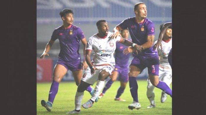Bomber Persik Kediri Tampi Macho, Persik Unggul Tipis 1-0 vs Borneo