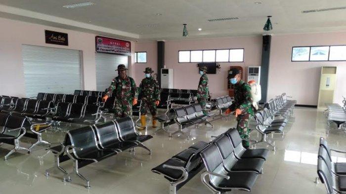 Satgas Pamtas RI-RDTL Sektor Timur 'Serbu' Bandar Udara  Bere Tallo Atambua, Ini yang Mereka Lakukan