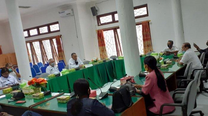 Pejabat Bupati Silaturahmi ke Dewan Minta Dukungan Kerja Sama