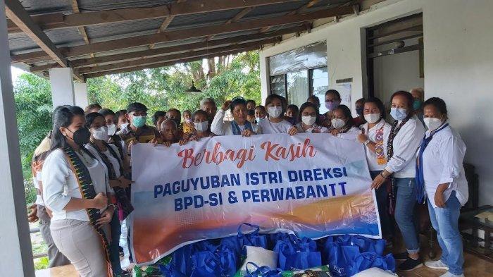 Paguyuban Istri Direksi BPD-SI danPerwabantt Kembali Bagi Bantuan Bencana Alam