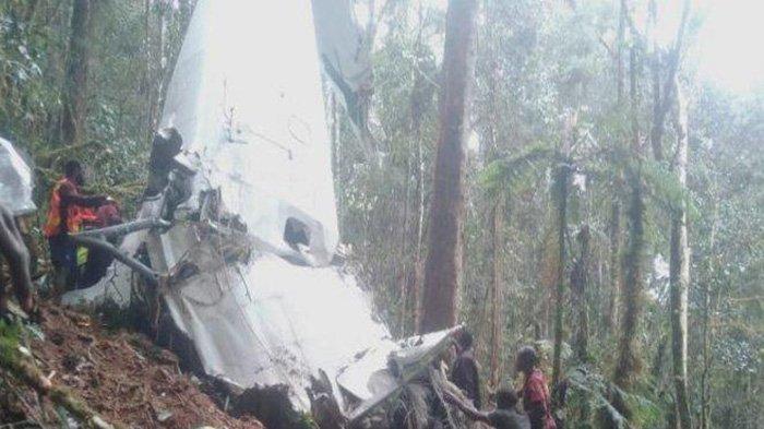 Jatuhnya Pesawat Rimba Air di Papua Ulah KKB Papua? Begini Jawaban Kapolres AKBP Sandi Sultan