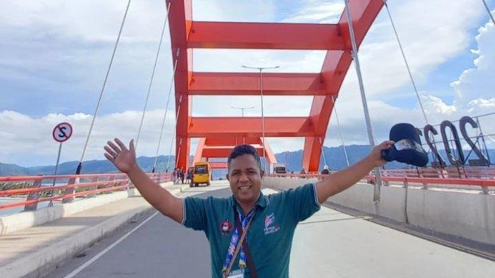 Jembatan Merah Jayapura Jadi Favorit Dikunjungi Peserta PON Papua