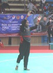 Dua Pesilat NTT Lolos ke Semifinal PON XX Papua, Jeni Menang Pesilat Bali