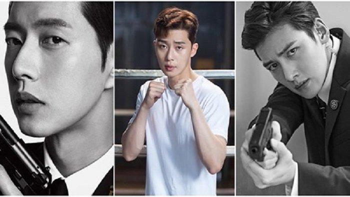 Pesona Aktor Korea yang Pernah Jadi Bintang di Drakor Action, Park Seo Joon hingga Hyun Bin: Seksi!