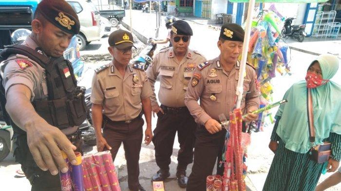 Amankan Natal Dan Tahun Baru Polisi Awasi Peredaran Petasan Di Kota Ende