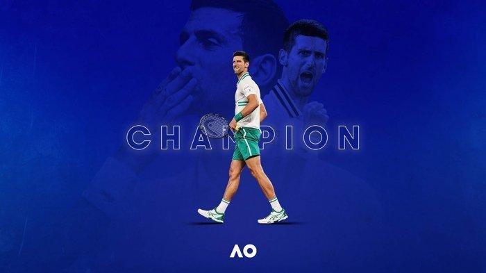 Final Australia Open 2021, Kalahkan Daniil Medvedev, Novak Djokovic Juara Tunggal Putra, Info SPORT