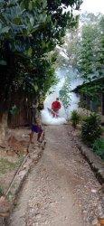 Puskesmas Kota Atambua Cegah Malaria dan DBD dengan Fogging