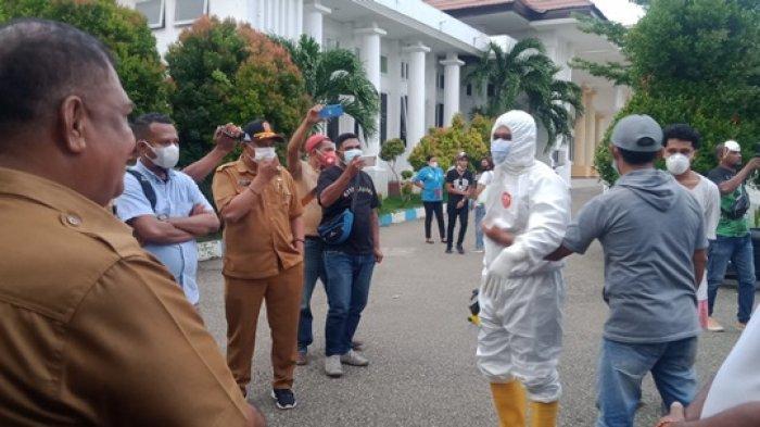 Upah Belum Dibayar, Petugas Pengurus Jenazah Covid-19 'Serbu' Rujab Wali Kota Kupang