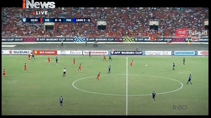 Philippines vs Vietnam Live Sekarang dan Link Live Streaming Fox Sports Semifinal Piala AFF 2018