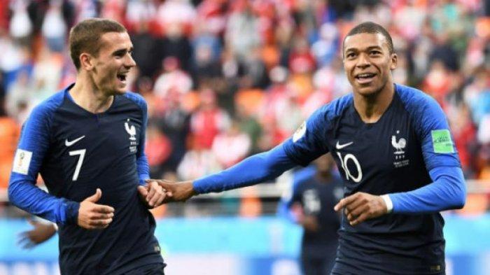 Prancis Kalahkan  Argentina 4-3 di Babak 16 Besar Piala Dunia 2018