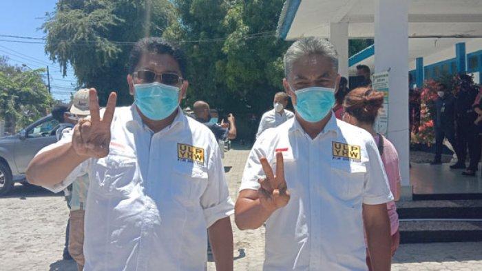 Pilkada Sumba Timur, Paket ULP-YHW Selalu Bawa Masker Untuk Pendukung Saat Berkampanye, Info