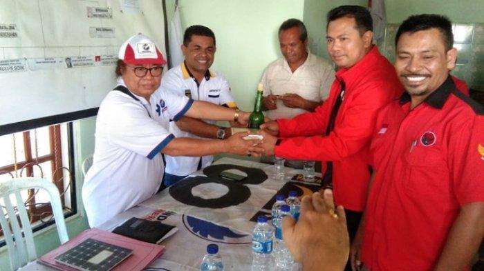 Pilkada TTU, Frengky Saunoah Mendaftar di Sekber Perindo dan PKS