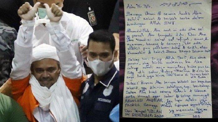 Permohonan Penangguhan Penahanan Ditolak, Begini Doa Terdakwa Habib Rizieq Shihab dari Balik Tahanan