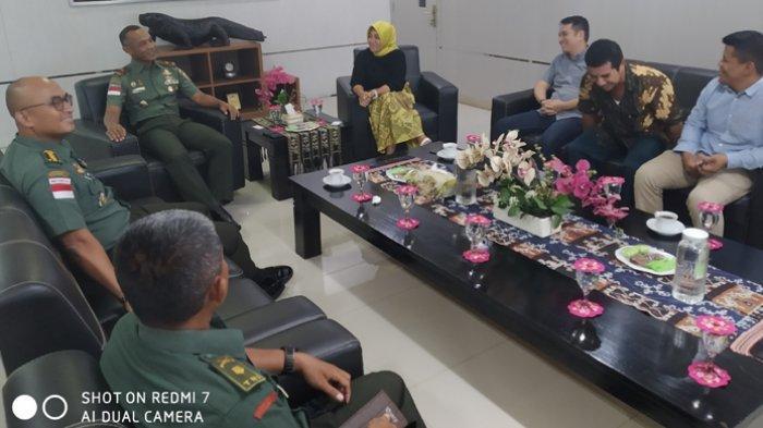 Pimpinan Pos Kupang Kunjungi Korem 161 Wirasakti Kupang