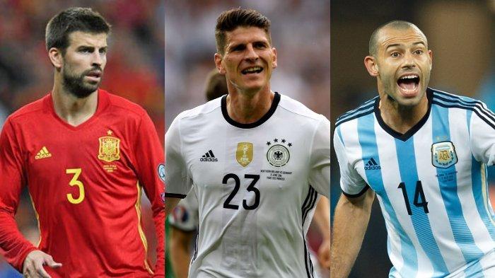 Iniesta dan 8 Pemain Bintang ini Diragukan Tampil di Piala Dunia 2022 Qatar