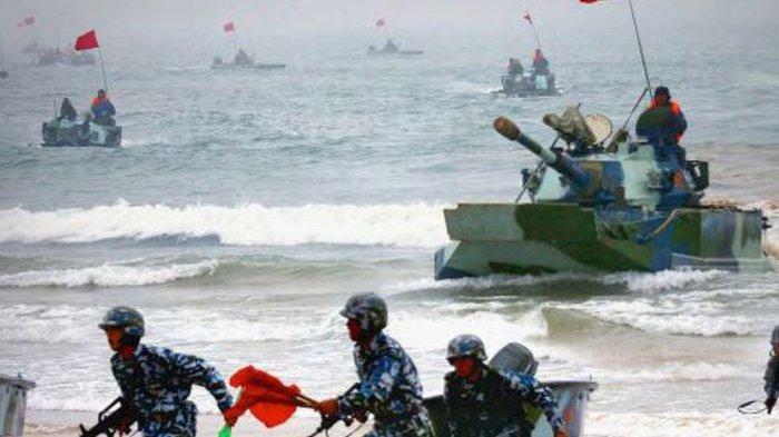 Tekad China Hancurkan Perlawanan Taiwan Hingga Bertekuk Lutut Secepat Mungkun, Tapi ini ada AS