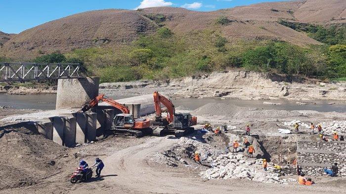 PLN Dukung Kelistrikan Pembangunan Bendung Lambanapu Pasca Badai Seroja