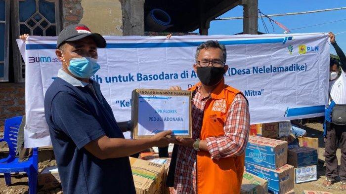 PLN Bantu Warga Nelelamadike di Adonara Kabupaten Flores Timur
