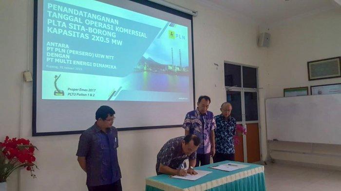 PLTA Sita Borong Beroperasi, Masyarakat Manggarai Timur dapat Pasokan Listrik Energi Baru Terbarukan