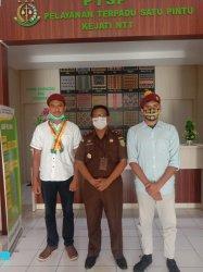 PMKRI Cabang Kupang Cross-check Laporan Ke Kejati NTT
