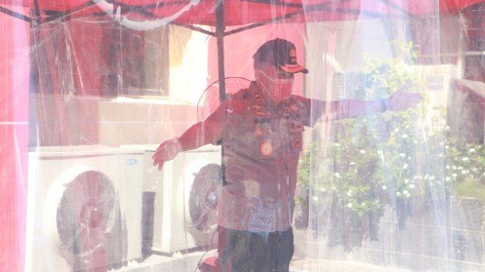 Polda NTT Siapkan Tenda Disinfektan di Mapolda, Cegah Penyebaran Virus Corona