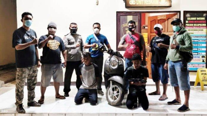 Polisi Bekuk 2 Pelaku Pencurian Sepeda Motor dan Barang Elektronik di Kupang
