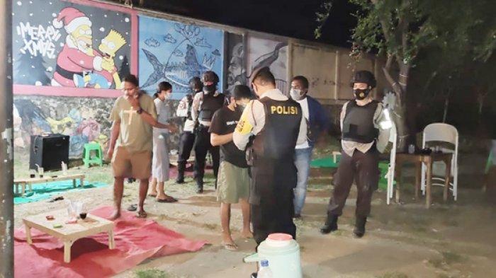 Polres Sikka Operasi Premanisme di Maumere