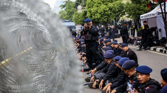 Polri Sebut Jumlah Personel Gabungan TNI-Polri yang Disiagakan di MK Telah Cukup