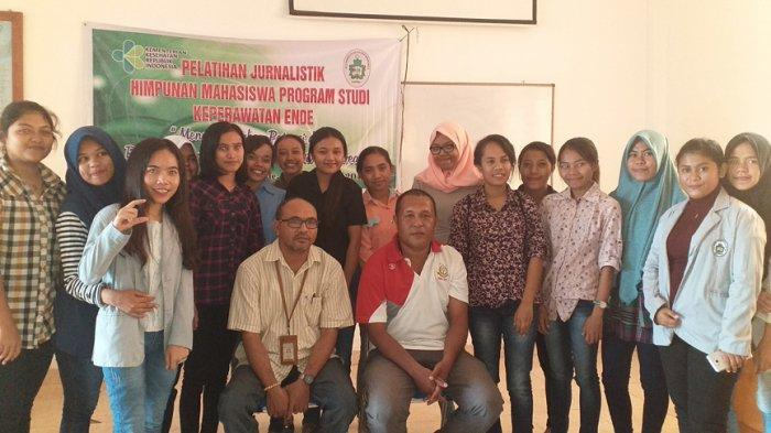 Poltekes Kupang Di Ende Gelar Pelatihan Jurnalistik