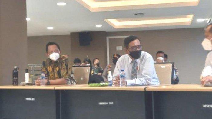 Ini Penjelasan Menkopolhukam dan Mendagri soal Dana  Rp 1, 4 Triliun Dipertanyakan PB PON XX Papua