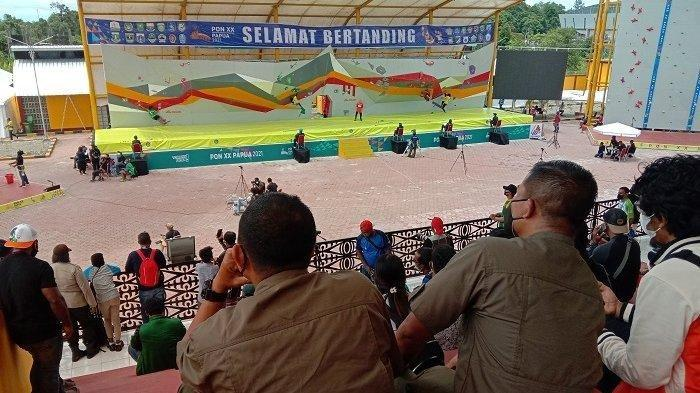 Atlet Jawa Timur Juara Umum Cabang Olahraga Panjat Tebing PON XX Papua 2021