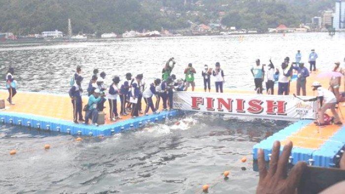 Info Sport PON XX : Attet Renang Mutiara Akui Alam Papua Sangat Indah