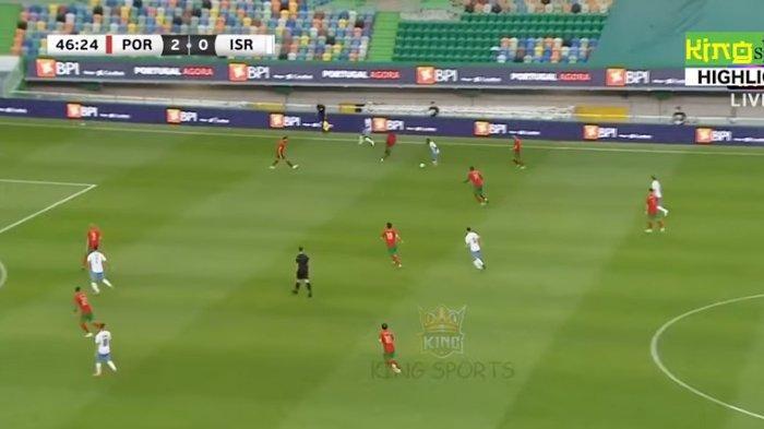 Portugal Hajar Israel 4-0 di Uji Coba Euro 2020, Cristiano Ronaldo dan Bruno Fernandes Jadi Bintang