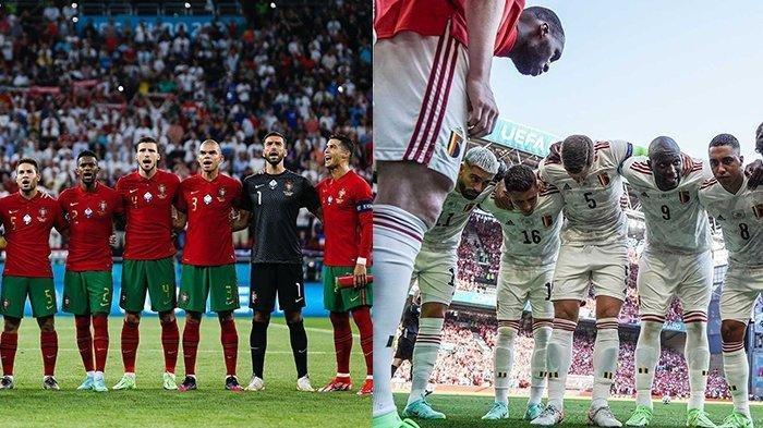 Prediksi Euro 2020 Belgia vs Portugal, Duel Mendebarkan Peringkat  Satu Bertemu Juara Bertahan
