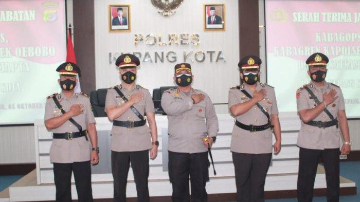 Polres Kupang Kota Punya Empat Pejabat Baru