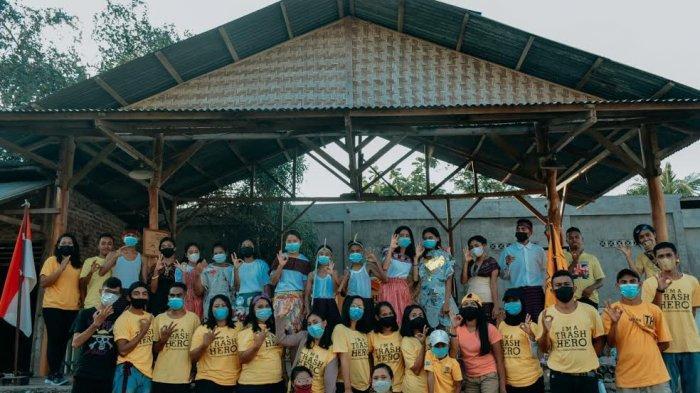 Trash Hero Larantuka dan SMAK St. Fransiskus Asisi Peringati Hari Lahir Pancasila