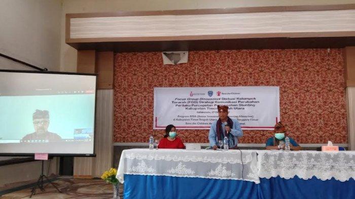 Save The Children Gandeng Pemda TTU Gelar Focus Group Discussion